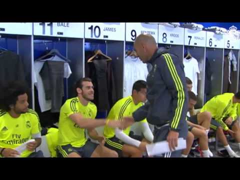 Zinedine Zidane The first day in Real Madrid