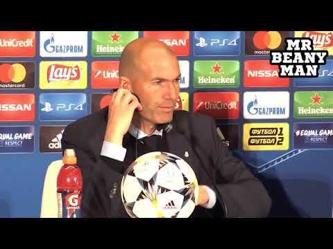 Real Madrid 3-1 Liverpool – Zinedine Zidane Post Match Press Conference -Champions Le