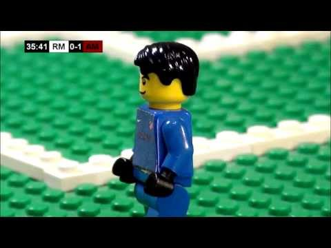 Champions League Final 2014 in LEGO (Real Madrid v Atletico Madrid)
