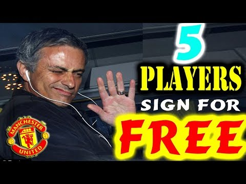 5 players Manchester United could sign for FREE in January | Transfer News Now