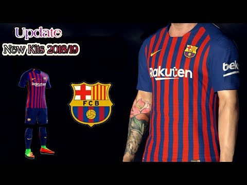 [NEW] Create Barcelona Team ★ 2018/19 Kits Logo & Players ★ Dream League Soccer 2018