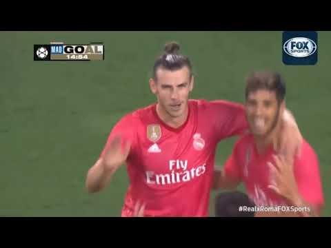 Real Madrid 2 x 1 Roma   VINICIUS JR QUASE FEZ GOLAÇO ! Melhores Momentos HD   Champions Cup 0708