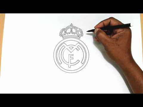 How to Draw the Real Madrid Logo
