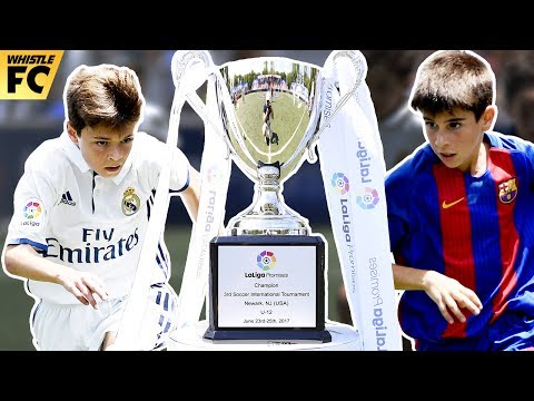 Barcelona vs Real Madrid (3-2) ● 2017 LaLiga Promises Final Highlights