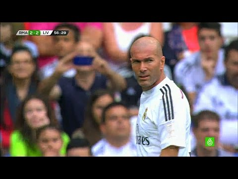 Zinedine Zidane vs Liverpool Legends Home (14/06/2015) HD 720p