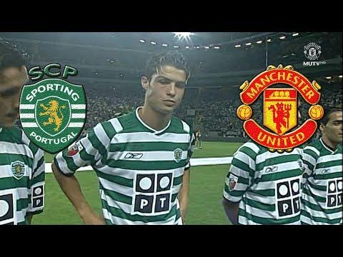 Así jugo Cristiano Ronaldo para impresionar al Manchester United a los 17 años!