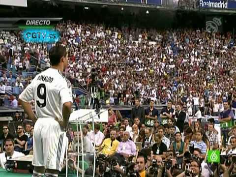 (HD) Presentacion Cristiano Ronaldo en el Real Madrid