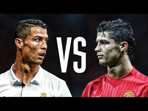 Cristiano Ronaldo Manchester United VS Cristiano Ronaldo Real Madrid l HD
