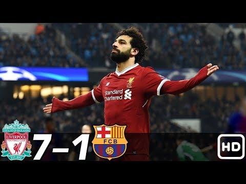Liverpool vs Barcelona 7-1 – All Goals & Extended Highlights RÉSUMÉ & GOLES ( Last Matches ) HD