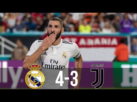 Real Madrid vs Juventus 4-3 – All Goals & Extended Highlights – Last Matches HD