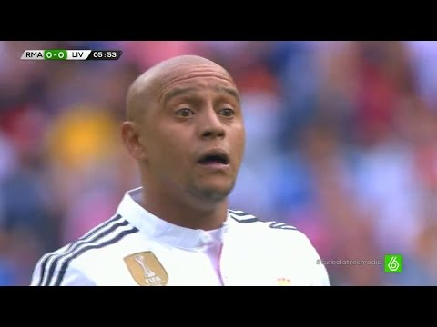 Roberto Carlos vs Liverpool Legends Home (14/06/2015) HD 720p