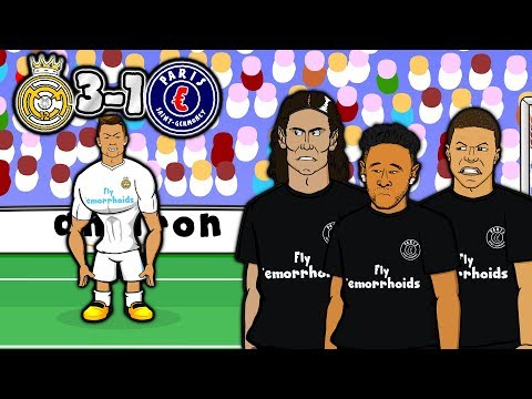💔MCN – BAD BROMANCE!💔 3-1 Real Madrid vs PSG (Champions League 2018 Goals Highlights Parody)