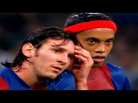 Ronaldinho & Lionel Messi vs Real Madrid (A) 2006/07 – La Liga 06-07 – By PedroPaulo10i