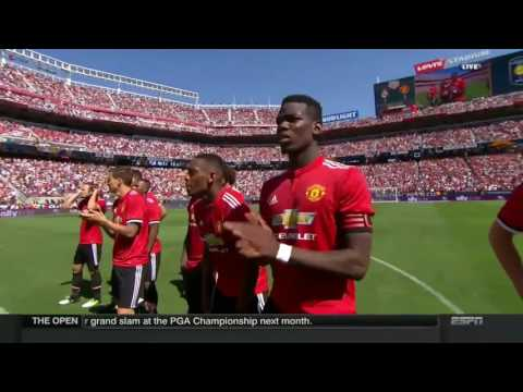 SEERRUU !!! Adu penalti Manchester United VS Real Madrid #1 Minggu (23/7/2017)