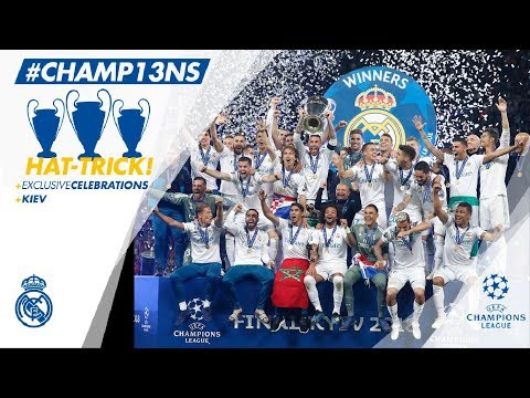 🏆 UEFA CHAMPIONS LEAGUE WINNERS 2018 | Full celebrations