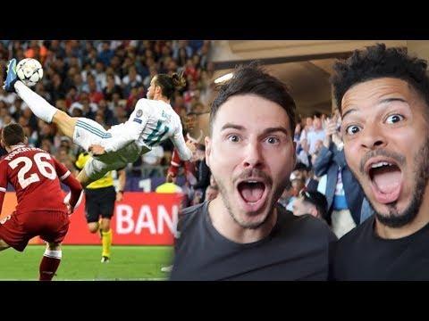 GARETH BALE'S WONDER BICYCLE KICK!   CHAMPIONS LEAGUE FINAL   Real Madrid VS Liverpool