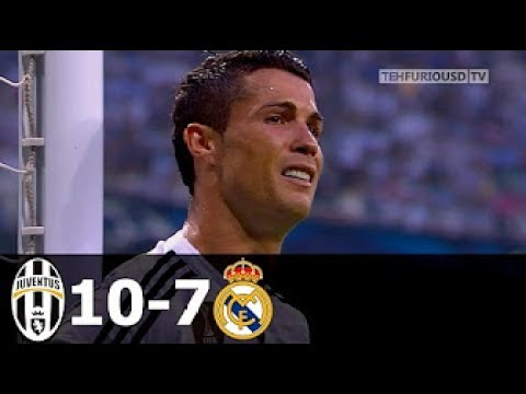 Juventus vs Real Madrid 10-7 ● Tutti i Gol dal 2008 al 2015 in Champions League