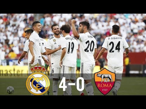 Real Madrid vs Roma 4-0 – All Goals & Extended Highlights – Last Matches HD