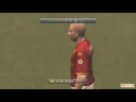 PES 2009 AS Roma vs Real Madrid Penalties – UCL Gameplay