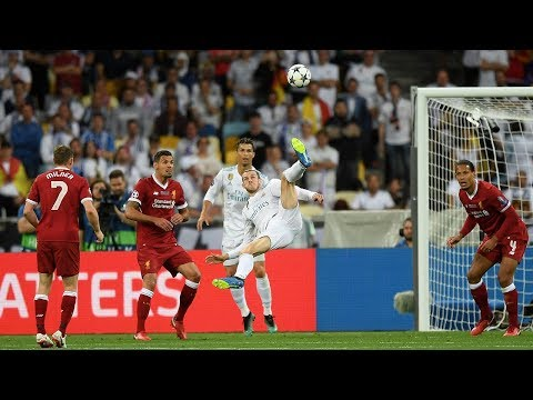 Real Madrid 3-1 Liverpool | Gareth Bale Scores The Best UCL Final Goal Ever! | #InternetReacts