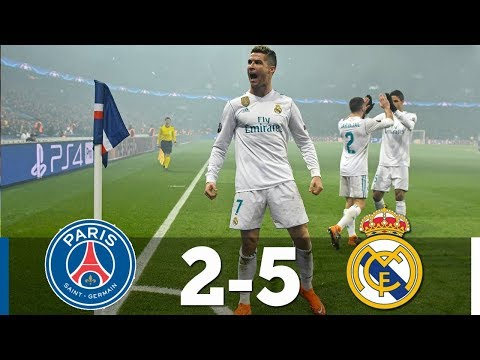 PSG vs Real Madrid 2-5 – All Goals & Extended Highlights ( Last Matches 2018 ) HD