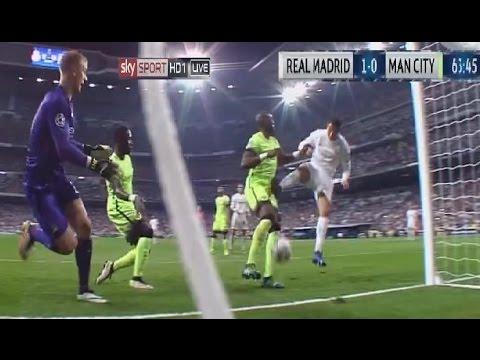 NBA Cristiano Ronaldo hand Ball Real Madrid vs Man City 1-0 04/05/2016 HD