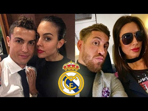 Real Madrid Players Wifes & Girlfriends 2018