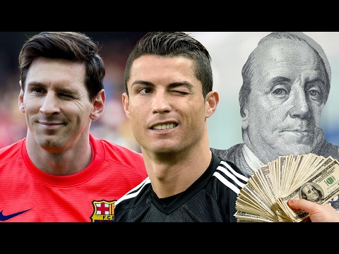 15 Highest Paid Best Football Players (Salary) – Messi, Ronaldo, Pogba? | 2017 NEW