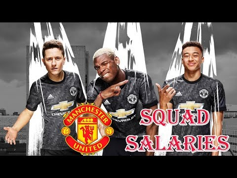 Man United Player Salaries 2017-18