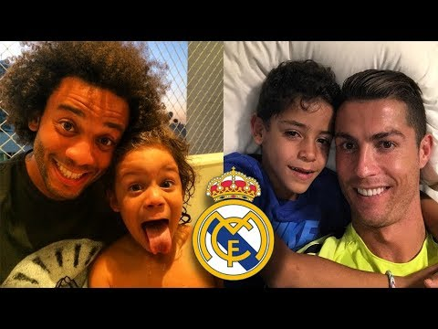 Real Madrid Players Kids 2017/18 – Who Is Most Cute?