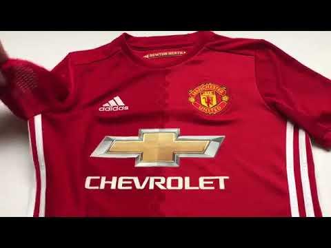 Manchester United Hemmatröja 2016/17 |Fotbollstall.com Billiga Fotbollströjor Recension