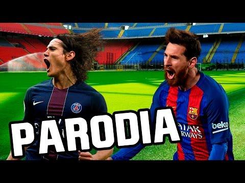 Canción Barcelona – PSG 6-1 (Parodia Enrique Iglesias -Subeme la radio)