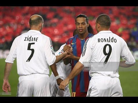 O Dia que Ronaldinho Gaúcho Destruiu o Real Madrid ● Ronaldinho Destruindo o Real Madrid