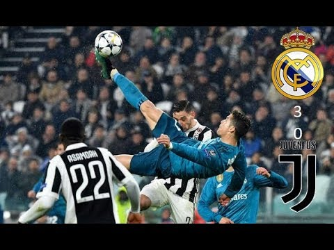 Juventus vs Real Madrid  0  3   All Goals and Highlights 3  4  2018