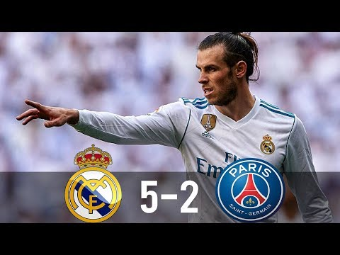 Real Madrid vs PSG 5-2 – All Goals & Extended Highlights – Last Matches HD
