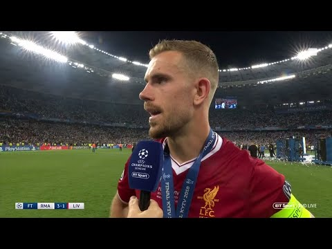 Jordan Henderson defends Loris Karius after Champions League final defeat to Real Madrid