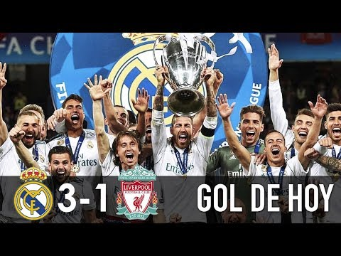 Real Madrid 3 Liverpool 1 I Goles y resumen I Real Campeón Champions League 2018-2019