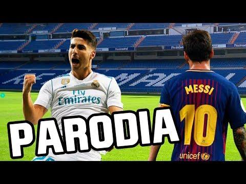 Canción Real Madrid vs Barcelona 2-0 (Parodia Una Lady Como Tú – MTZ Manuel Turizo)