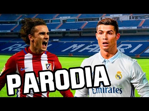 Canción Real Madrid vs Atletico Madrid 1-1 (Parodia Shakira – Me Enamoré) 2017