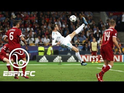 Gareth Bale's epic Champions League-winning bicycle kick goal for Real Madrid vs Liverpool | ESPN FC