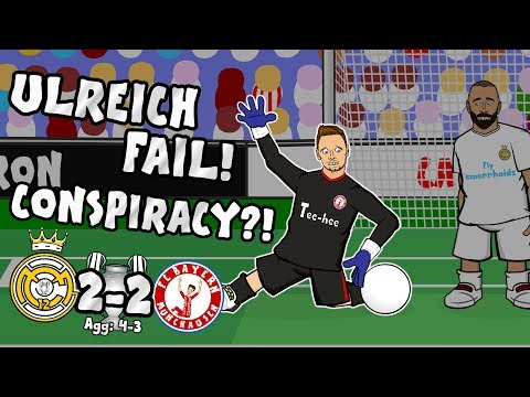 😱ULREICH CONSPIRACY?!😱 FAIL! Real Madrid vs Bayern Munich 2-2 (4-3 2018 UCL highlights)