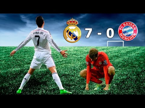 REAL MADRID 7 vs BAYERN MUNICH 0 – Previa Champions League  – PARODIA