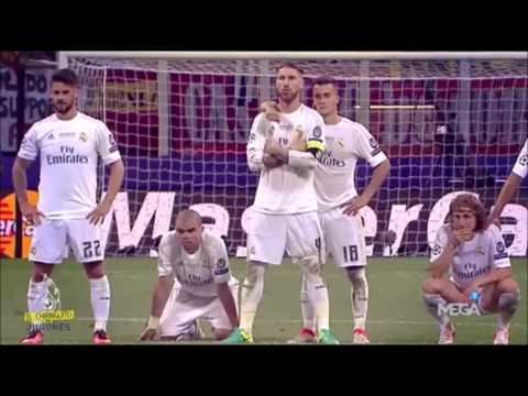 Real Madrid vs Atletico Madrid UEFA Champions League final 2016 – Behind the penalties.