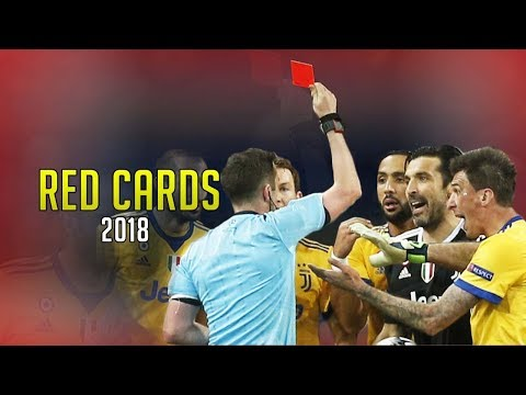 Football Red Card and Controversial 2018