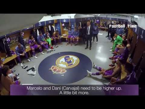 Zinedine Zidane Philosophy Half Time Champions League Final vs Juventus