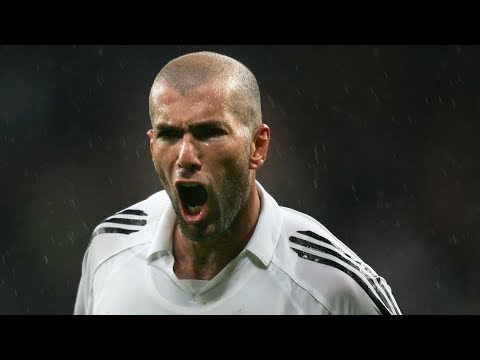 The Magic Of Zinedine Zidane ● Real Madrid 2001 – 2006