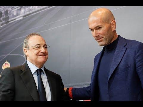 Así fue la rueda de prensa de despedida de Zidane I MARCA