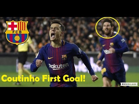 FOOTBALL STARS FIRST GOAL FOR THEIR NEW CLUBS FT. COUTINHO, MESSI, NEYMAR, RONALDO