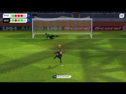 Dream league soccer Fc barcelona vs Real madrid