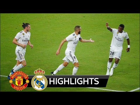 Manchester United vs Real Madrid 2-1 – All Goals & Extended Highlights – Friendly 01/08/2018 HD